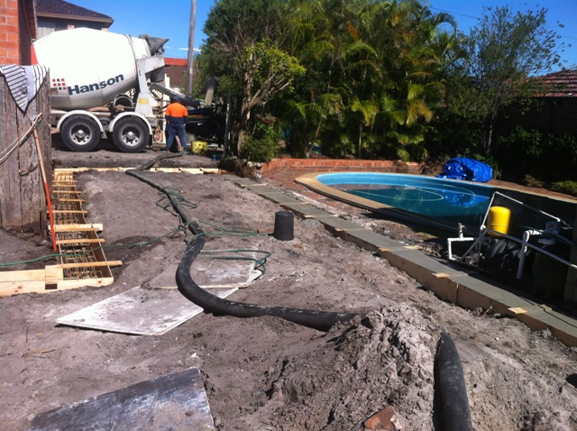 Sydney concrete pumping & shotcreting