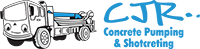 CJR Concrete Pumping Logo